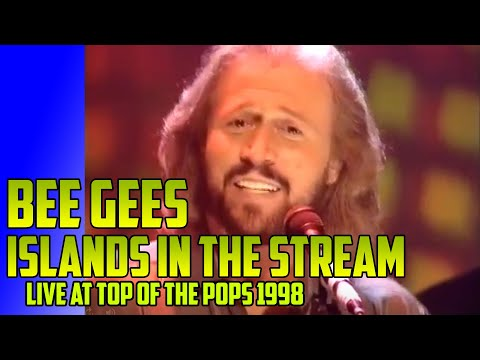 Bee Gees Islands In The Stream Live Top Of The Pops