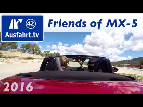 Friends of MX5 Event, Barcelona, April 2016 / Mazda MX-5 Global Cup Car