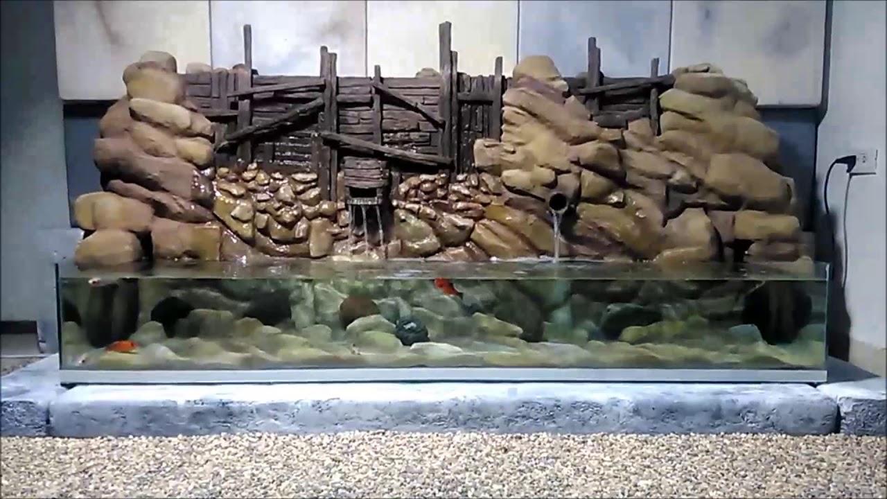 Fuentes de agua y acuarios originales youtube for Acuarios originales