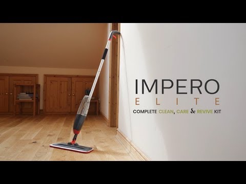 Wood Floor Cleaning - Impero Elite's Complete Clean, Care & Revive Kit