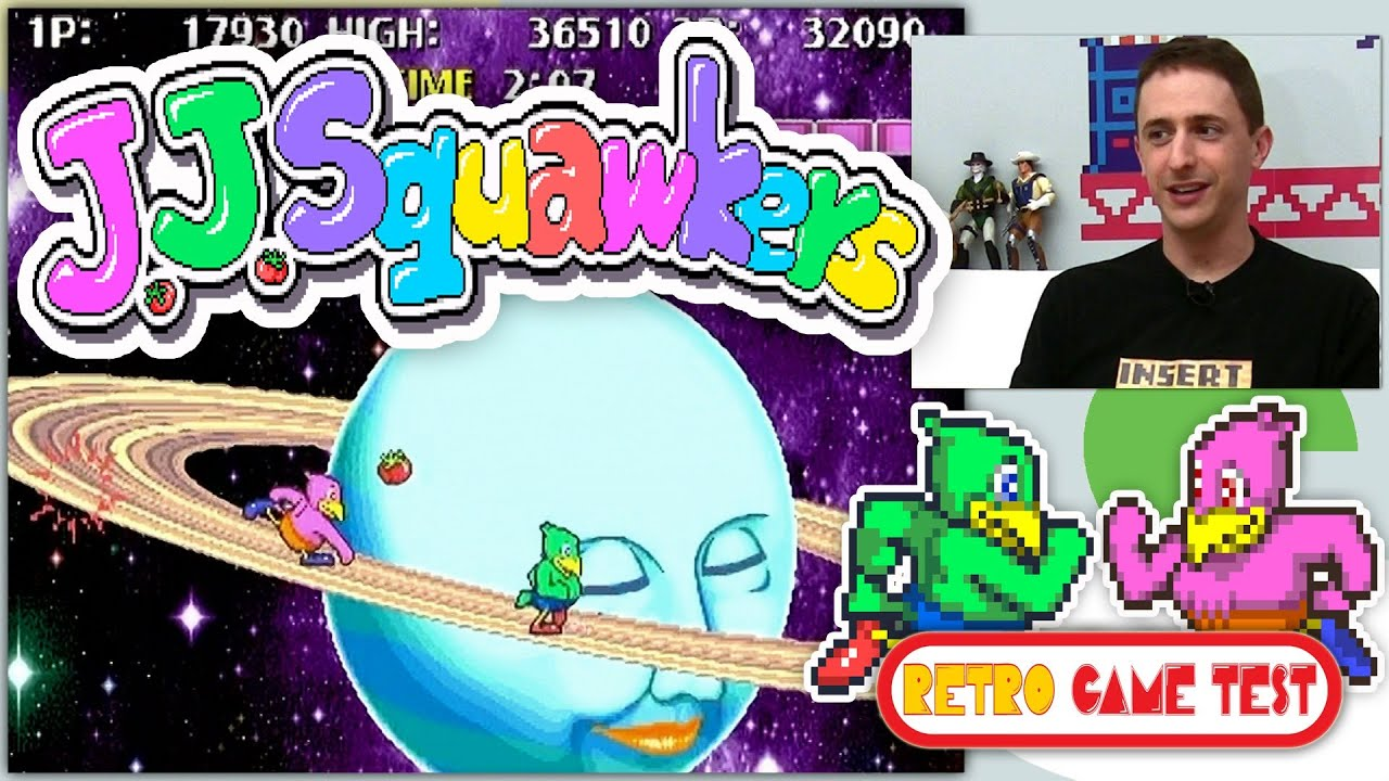 J. J. Squawkers ROM - MAME