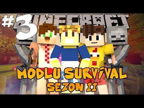 Minecraft Modlu Survival 2. Sezon - Uzay - Bölüm 3