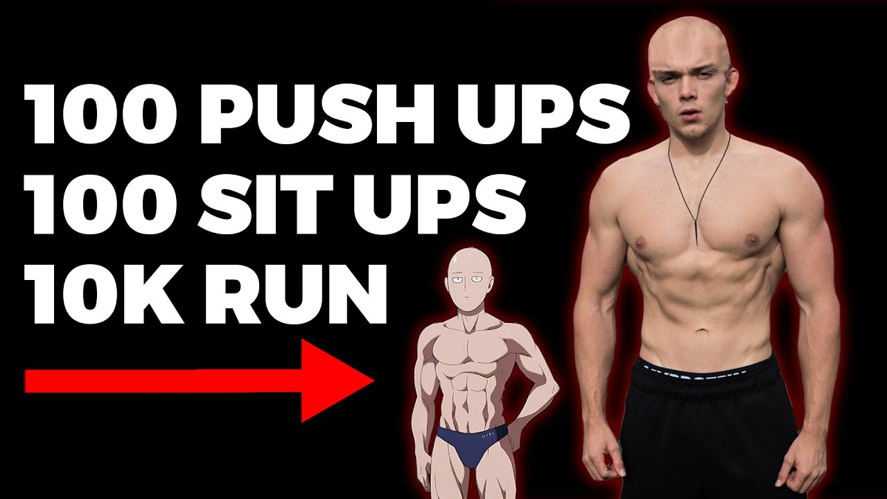 30 Day One Punch Man Workout Challenge Does It Work Youtube