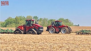 2020 Corn Planting with Big CASE IH Tractors
