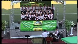 Евангелизационный хор г Винница пение 16 августа 2014г