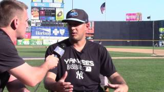 Interview with Trenton Thunder Pitcher: Jaron Long