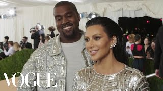 Kim Kardashian and Kanye West on Eating Reindeer | Met Gala 2016