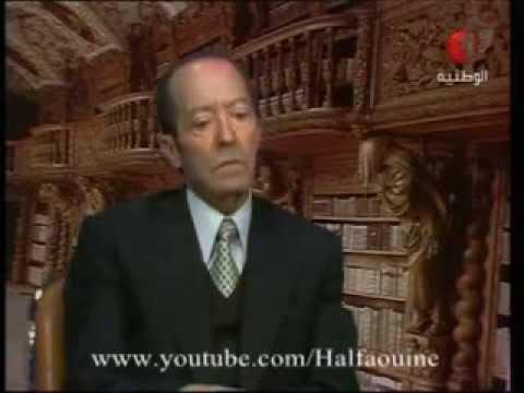 Mahmoud Messadi interview مقابلة مع الاديب محمود المسعدي
