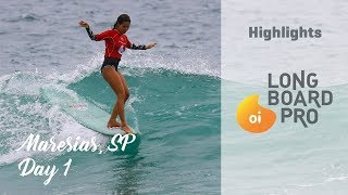 Highlights: Oi Longboard Pro, Maresias, Day 01
