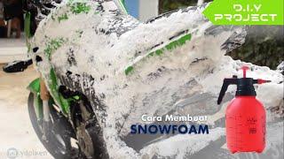 Cara Membuat Snow Foam/Snow Wash (D.I.Y) - MURAH BANGET!!