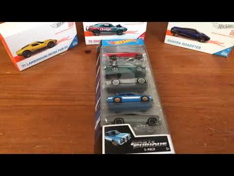 Fast & Furious 5-pack Box Opening July 21, 2019