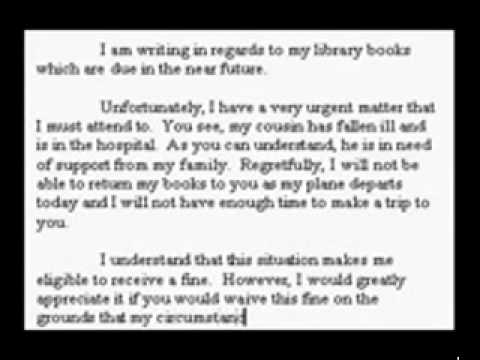 How to Write a Letter for the General IELTS Training Writing Test  YouTube