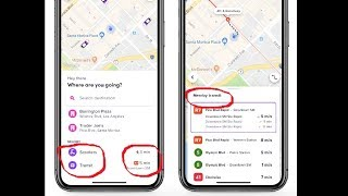 Lyft has started integrating scooters & public transit in app. Cool, it cuts out the short trips. screenshot 2