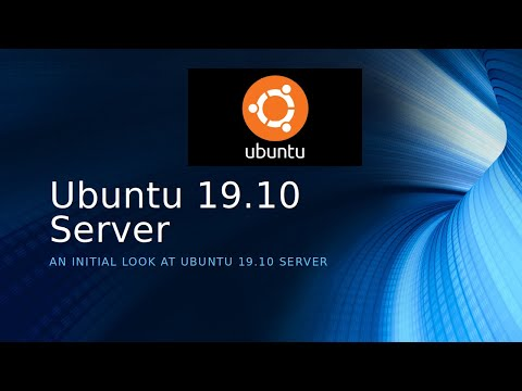 A Look At Ubuntu 19.10 Server