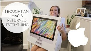 I Bought an Apple iMac & RETURNED EVERYTHING