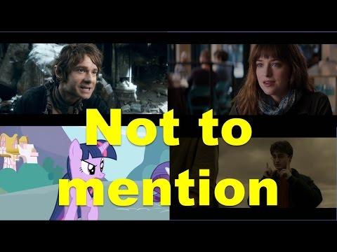 Not to mention (примеры из фильмов и сериалов) / Фразы на английском языке