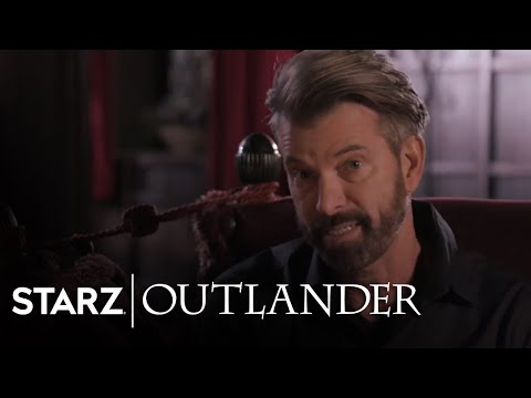 Outlander | Jon Gary Steele Season 3 Interview | STARZ