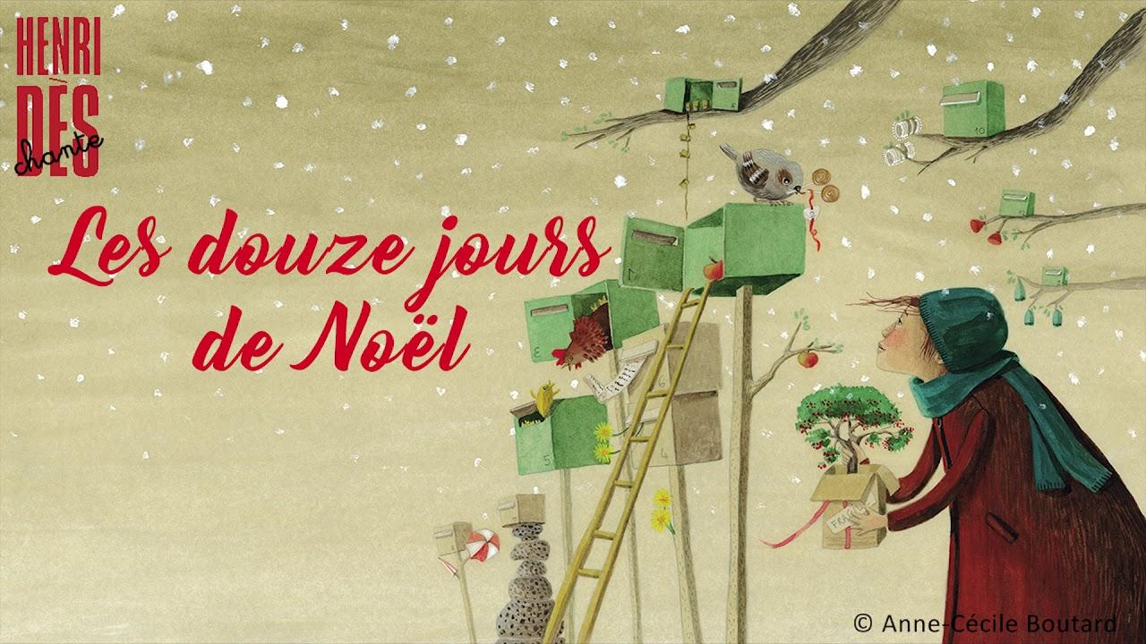 Henri Dès chante   Les douze jours de Noël   chanson pour enfant