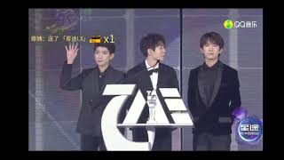 TMEA騰訊音樂娛樂盛典-TFBOYS領獎CUT|20191208