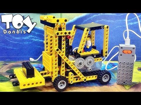 Wange 지게차 공사차량 레고 테크닉 호환 블럭 리뷰 Power Machinery forklift truck