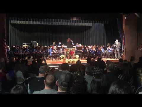 Lyons Middle School Band Dec 18 pt 2