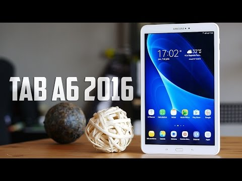 Make Samsung Galaxy Tab A6, review en español Snapshots