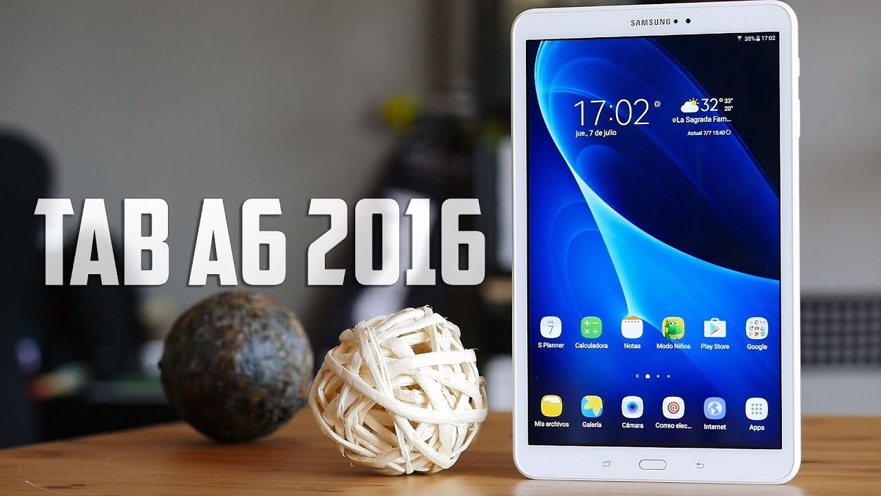 0b127bc5550 Samsung Galaxy Tab A6, review en español - YouTube