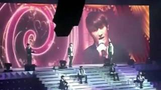 [Eng & Rom]090918 Super Show II Hong Kong SJM - 到了明天 (Blue Tomorrow) [Fancam]