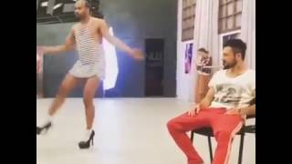 Мигель на каблуках шоу Танцы на ТНТ