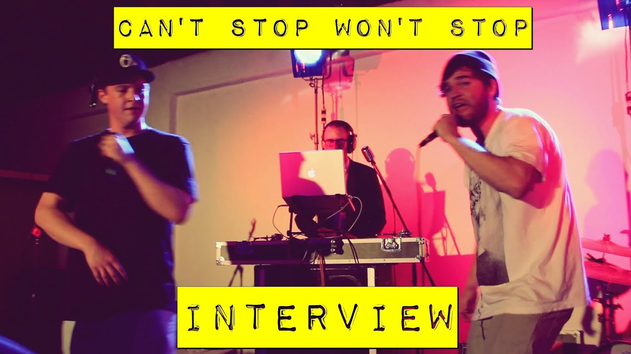 Can't Stop Won't Stop Exclusive Interview