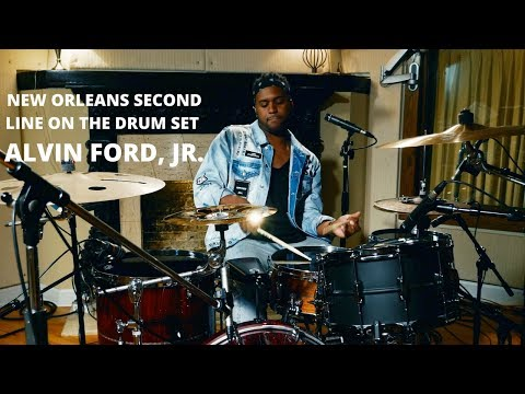 Meinl Cymbals - Alvin Ford, Jr. - New Orleans Second Line on the Drum Set