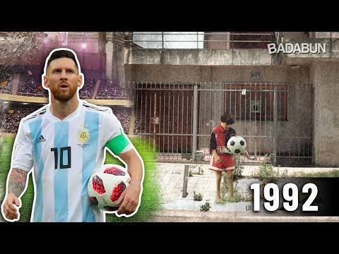 Esta es la casa donde nació Messi