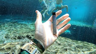 Get Screenshots for video :: I Found a JUUL Underwater in the River While Searching for Lost Valuables! (Underwater Finds)