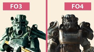Fallout 4 Reveal Trailer vs. Fallout 3 Graphics Comparison FullHD