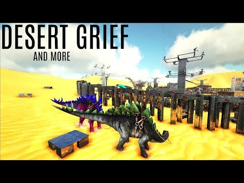 GRIEFING IN THE DESERT and NEW Aberration Spot - Official PVP (E108) - ARK Survival