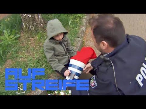 Moritz erster Schultag: Böse Überraschung in der Schultüte | Auf Streife | SAT.1 TV