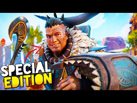 NEW Gibraltar EDITION Skin (High Kill Sweaty Gameplay) | Apex Legends