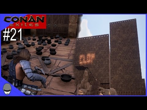 CONAN EXILES - It Wasn't Me! - Ep21 Gameplay