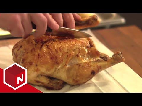 4-stjerners middag - Margaret Berger: Tranchere kylling