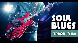 Minor Blues Soul Groove Guitar Backing Track Jam in Am