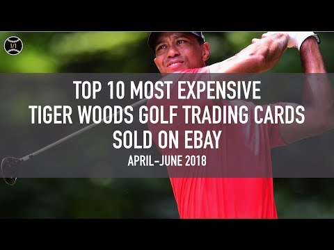 Top 10 Most Expensive Tiger Woods Golf Trading Cards Sold On