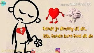 Dimag Dil ❤️ Da (Sharry Maan) || WhatsApp status video || With download link 👇🏻 || 👌👌👌