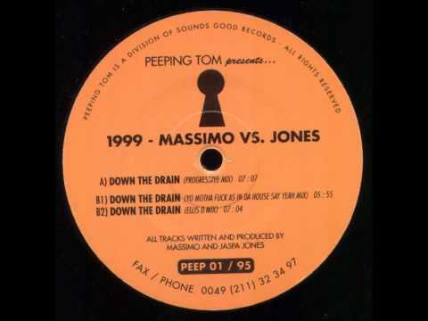 Massimo VS Jones - Down the drain ( Progressive mix )