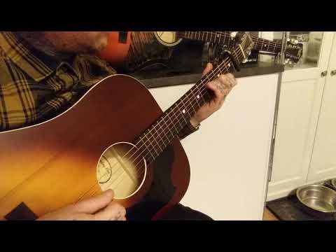 Recording King RDS-9-TS bluegrass flatpicking soundtest