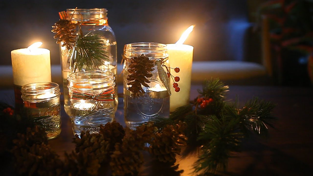 Tips Membuat Lilin Apung & Hiasan Pohon Natal - YouTube