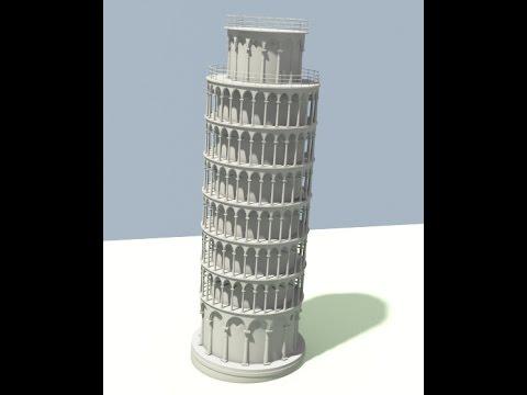 Modeling Pisa Tower