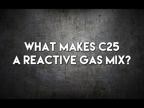 What Makes C25 a Reactive Gas? | Forum Question Answered