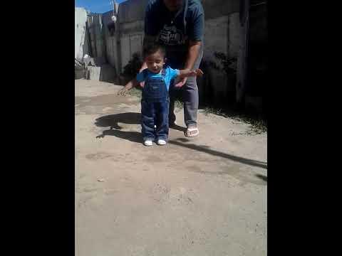 Tadeo Bebé Caminando A 1 Semana De Cumplir Sus 10 Meses❤