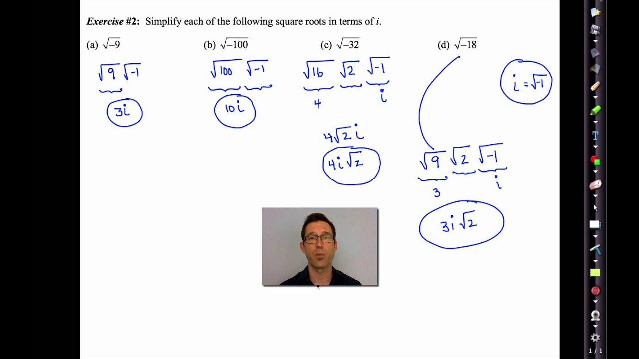 Mathematics Extension 2 – Complex Numbers