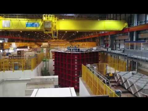 Fly above ProtoDUNE at CERN Neutrino Platform